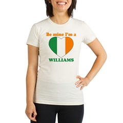 Williams, Valentine's Day Organic Women's Fitted T-Shirt
