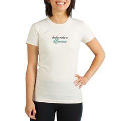 doulas make a difference Organic Women's Fitted T-Shirt