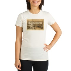 San Francisco and surrounding Organic Women's Fitted T-Shirt