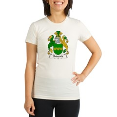Roderick Family Crest Organic Women's Fitted T-Shirt