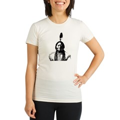 Sitting Bull Organic Women's Fitted T-Shirt