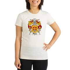 Pires Family Crest Organic Women's Fitted T-Shirt