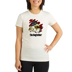 The Dogfather Organic Women's Fitted T-Shirt