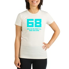 Let's 68! Organic Women's Fitted T-Shirt
