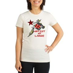Artist At Large Organic Women's Fitted T-Shirt
