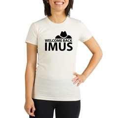 Welcome Back Imus Organic Women's Fitted T-Shirt