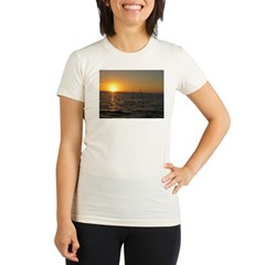 Sunset Organic Women's Fitted T-Shirt