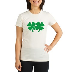 Touch My Lucky Charms Organic Women's Fitted T-Shirt