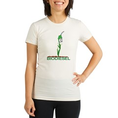 Biodiesel-Plan Organic Women's Fitted T-Shirt