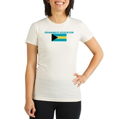 BAHAMIAN BY ASSOCIATION Organic Women's Fitted T-Shirt