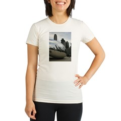 Chicago Millennium Park Organic Women's Fitted T-Shirt