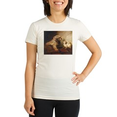 Bichon Frise Organic Women's Fitted T-Shirt