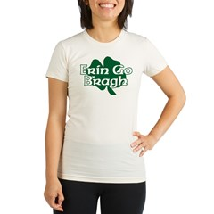 Erin Go Bragh v15 Organic Women's Fitted T-Shirt