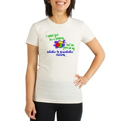 Blessing 2 (Autistic & NonAutistic Children) Organic Women's Fitted T-Shirt