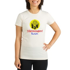Swedish Waffle Day Organic Women's Fitted T-Shirt