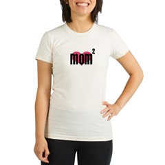 momtothesecond Organic Women's Fitted T-Shirt