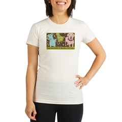 Vintage Pop Ar Organic Women's Fitted T-Shirt