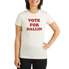 Vote for DALLIN Organic Women's Fitted T-Shirt