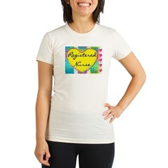 Registered Nurse Organic Women's Fitted T-Shirt