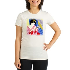 Geisha04c Organic Women's Fitted T-Shirt