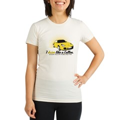 I drive like a Cullen - Alice Organic Women's Fitted T-Shirt