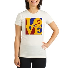 Orchestra Love Organic Women's Fitted T-Shirt