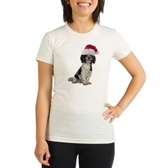 Santa Havanese Christmas Organic Women's Fitted T-Shirt