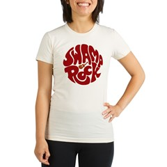 Swamp Rock Organic Women's Fitted T-Shirt