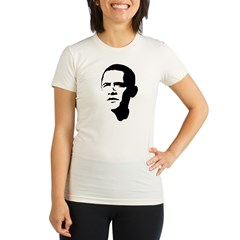 Obama Organic Women's Fitted T-Shirt