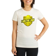 I AM THE LAW: Judge Dredd Organic Women's Fitted T-Shirt