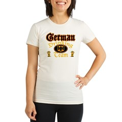 German Drinking Team Organic Women's Fitted T-Shirt
