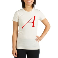 scarletLetter Organic Women's Fitted T-Shirt
