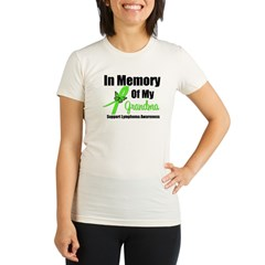 In Memory of My Grandma Organic Women's Fitted T-Shirt