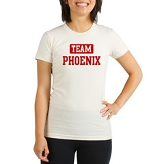 Team Phoenix Organic Women's Fitted T-Shirt