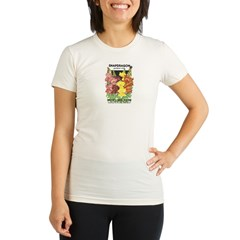 Snapdragon Organic Women's Fitted T-Shirt