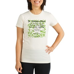 St. Paddy's Place Organic Women's Fitted T-Shirt