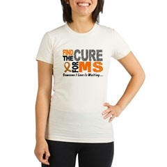 Find The Cure 1 MS Organic Women's Fitted T-Shirt