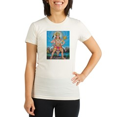 Jai Hanuman Organic Women's Fitted T-Shirt