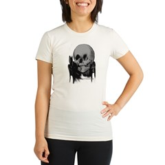 SKULL 5 Organic Women's Fitted T-Shirt