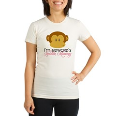 I'm Edward's Spider Monkey Organic Women's Fitted T-Shirt