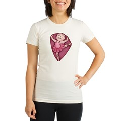 Belly Dancer Organic Women's Fitted T-Shirt