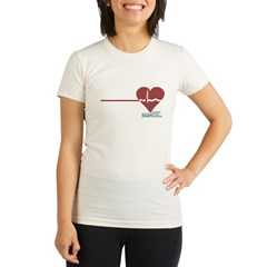I Heart Grey's Anatomy Organic Women's Fitted T-Shirt