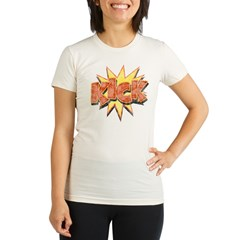 KICK! Organic Women's Fitted T-Shirt