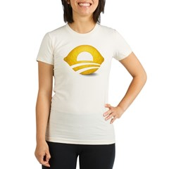 Lemon Presiden Organic Women's Fitted T-Shirt