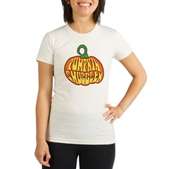 Pumpkin Smuggler Organic Women's Fitted T-Shirt
