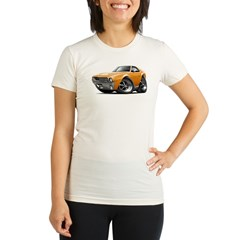 1968-69 AMX Orange Car Organic Women's Fitted T-Shirt
