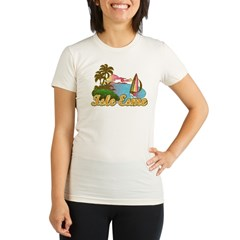 Breaking dawn - Isle Esme Organic Women's Fitted T-Shirt