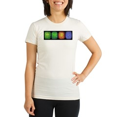 Seasons (Winter) Organic Women's Fitted T-Shirt