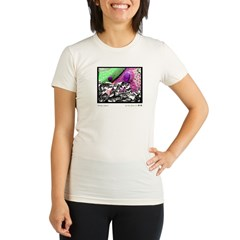 Berkeley CA, Spoons Colors Organic Women's Fitted T-Shirt