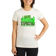 I Wear Lime 6.4 Lymphoma Organic Women's Fitted T-Shirt